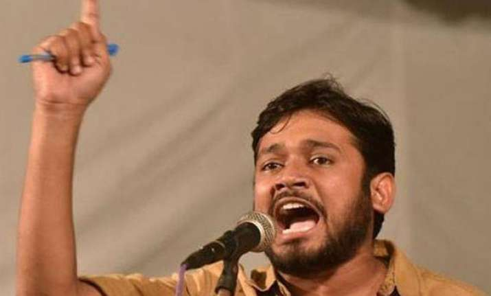 kanhaiya had objected to cancellation of permission for