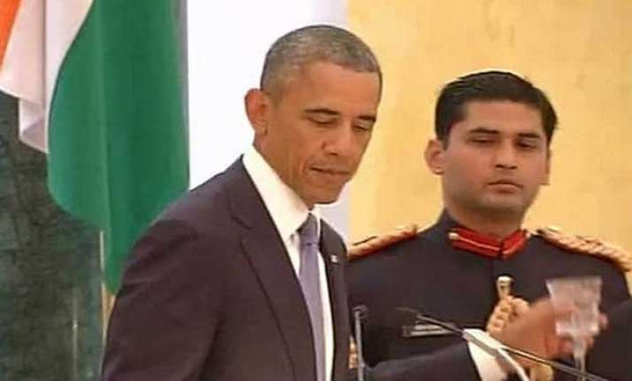 president obama raises a toast to the great partnership of