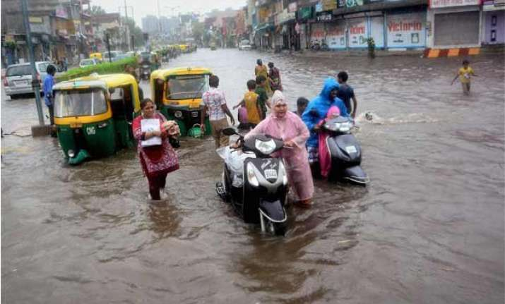 gujarat and rajasthan floods ndma directs ndrf personnel to
