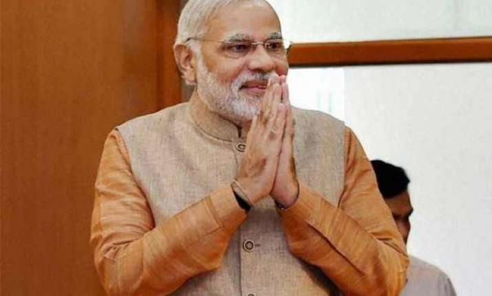 pm narendra modi greets nation on dhanteras