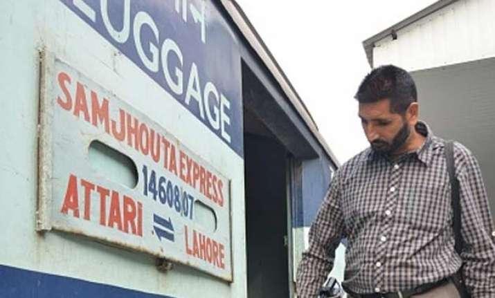 samjhauta express cancelled due to local agitation india
