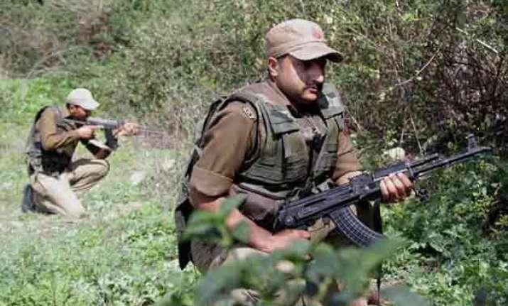 jawan killed two injured in gunbattle near loc
