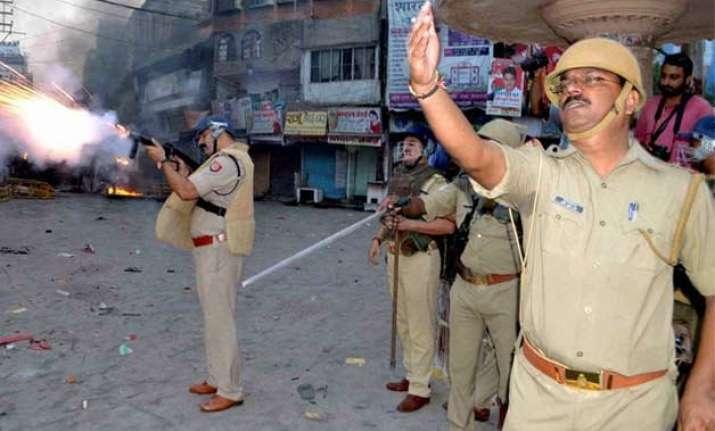 varanasi violence was pre planned says police