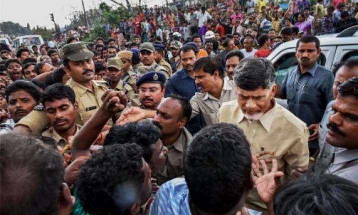 cyclone hudhud losses could go up to rs 70 000 cr says naidu