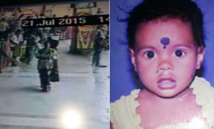 cctv footage woman arrested for kidnapping 16 month old