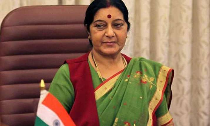 sushma swaraj calls on bhutan pm discusses security