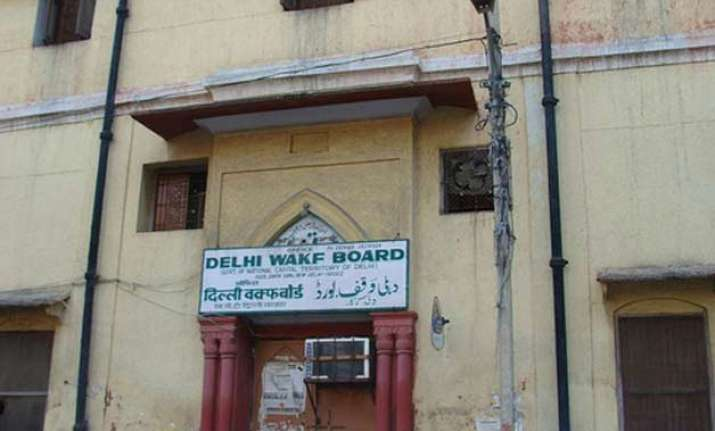 aap government supersedes delhi waqf board strips it of