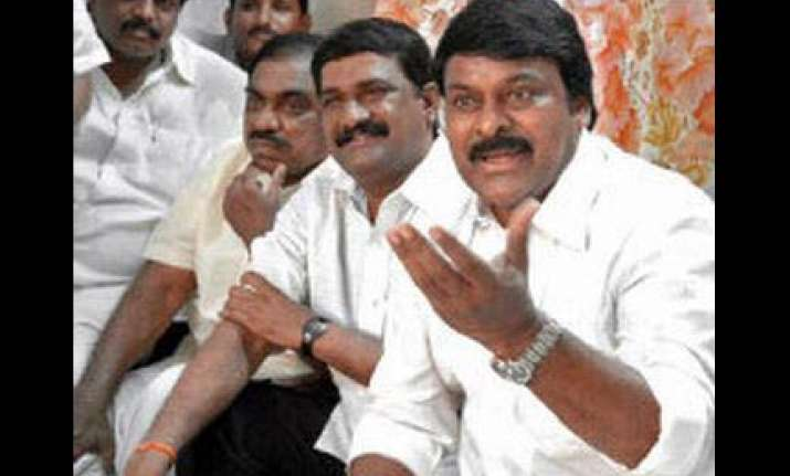 chiranjeevi s party will not join cong govt
