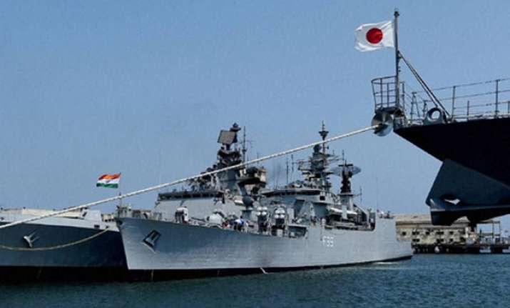 india us japan begin joint naval exercise vow to ensure
