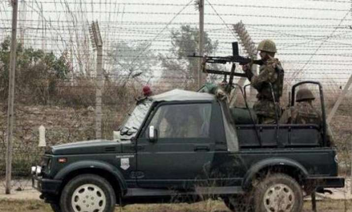 pakistan rangers target indian posts in jammu