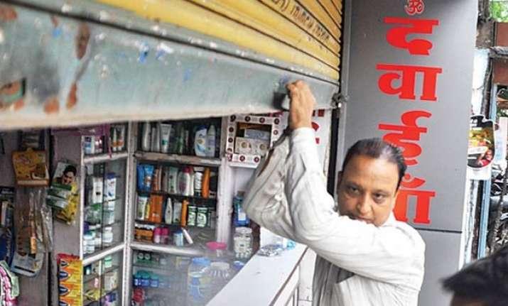 maharashtra s 55 000 chemists join all india strike