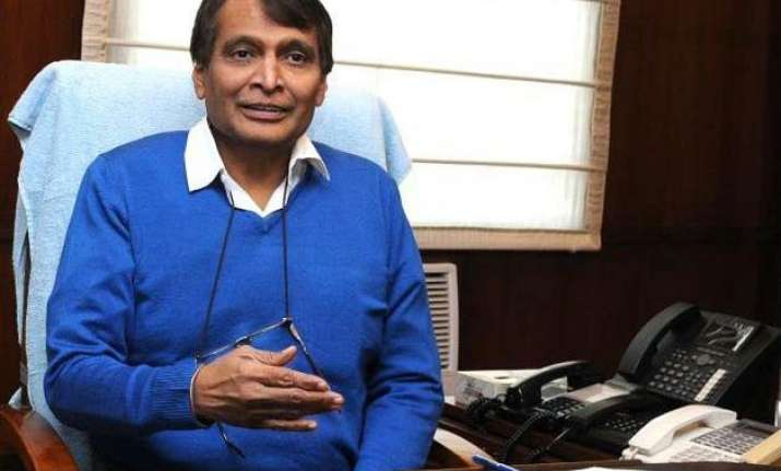 railway minister suresh prabhu to launch 50 000th coach on