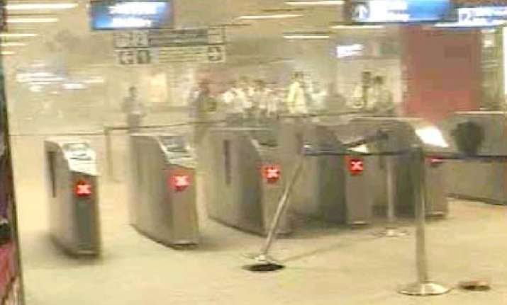 security drills at metro stations in delhi