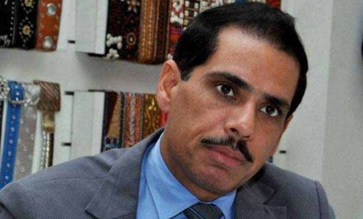 vadra hopes probe into land deal will not be used for