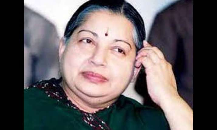 raja presided over mother of all scams says jayalalithaa