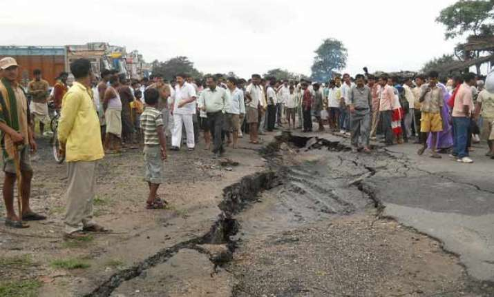tremors in jharkhand