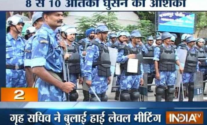 4 nsg teams rushed to gujarat hunt on to nab 10 militants
