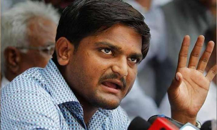 congress using patel community for political gains hardik
