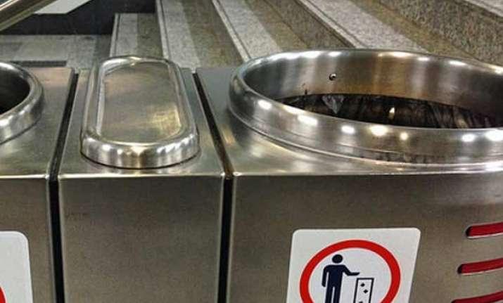 nid designed user friendly dustbins in trains soon