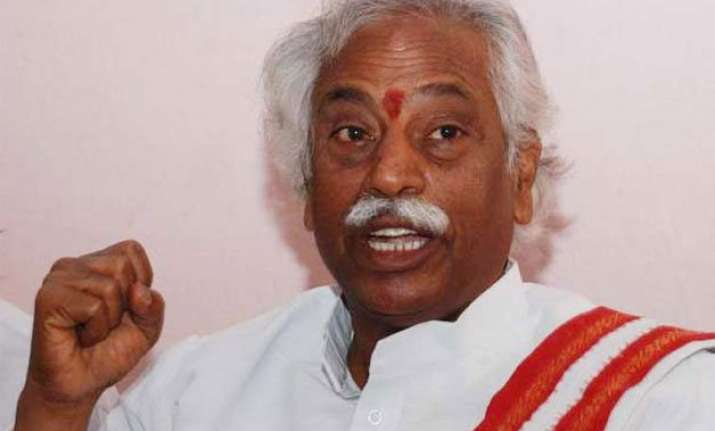 union minister dattatreya booked in dalit scholar suicide