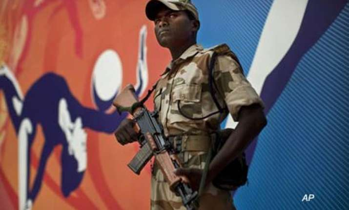 delhi under thick security cover ahead of cwg opening