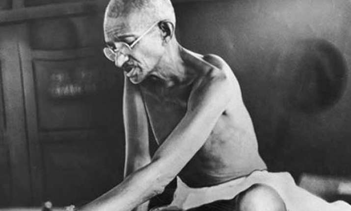 first documentary on gandhi to be screened tomorrow