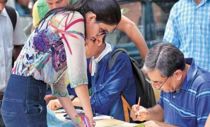 du admission over 1 lakh register online for ug courses
