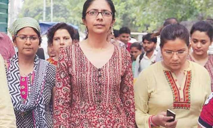 lg approves swati maliwal s appointment as dcw chief