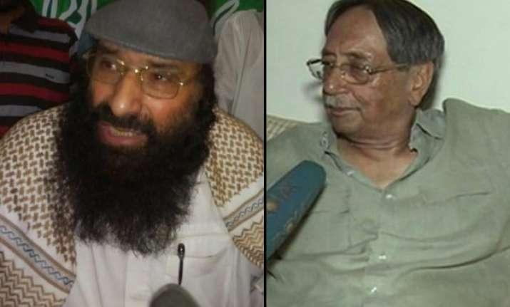 hizbul mujahideen chief syed salahuddin still wants to come