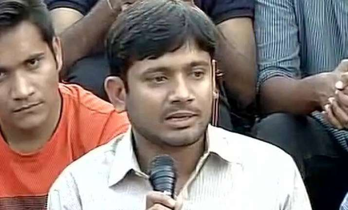 consider rohith vemula not afzal guru as my icon kanhaiya