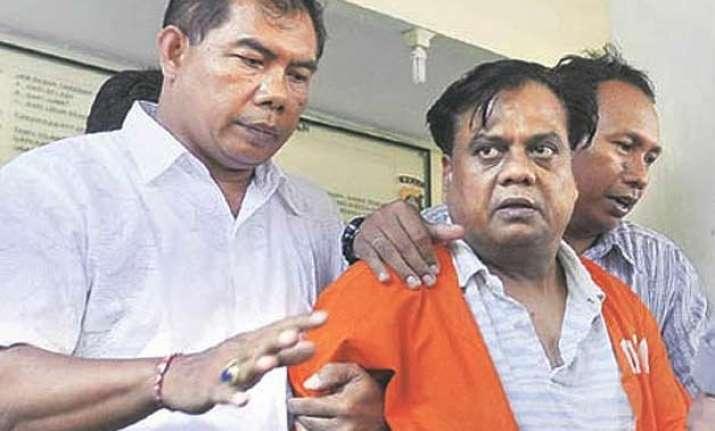 chota rajan reluctant to go to mumbai