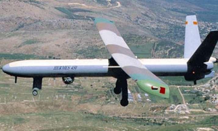 india lines up israeli drones