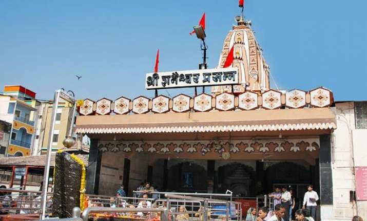 in a first woman appointed head of shani shingnapur temple