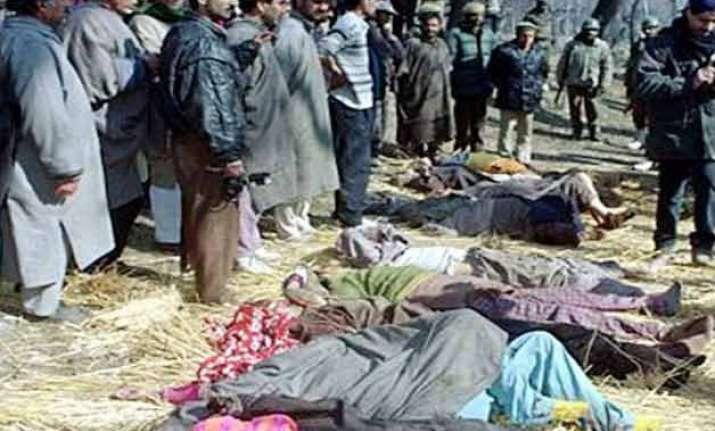 survivors of 1998 kashmir massacre accuse cbi of inaction