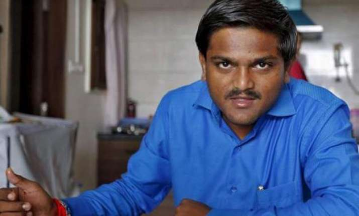 fir against hardik patel for holding meeting without
