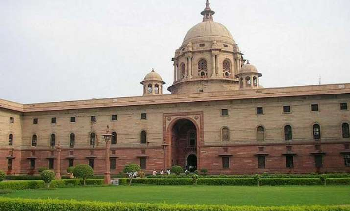 rashtrapati bhawan south block lagging behind in swachh