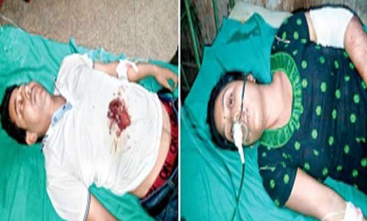 shot in the chest man drives on scooty 14 km to north
