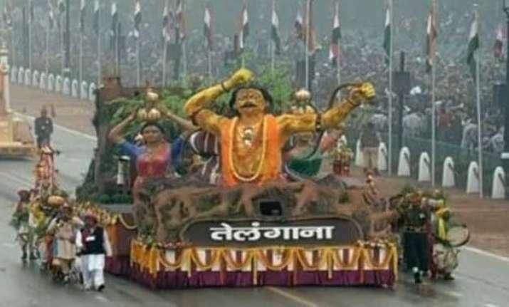 telangana debuts at republic day parade