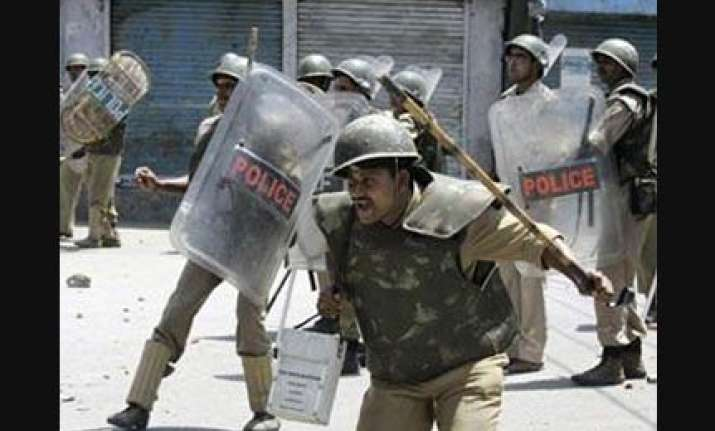 kashmir valley by and large peaceful curfew remains imposed