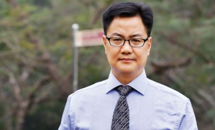 rijiju denies incursion by pla in arunachal