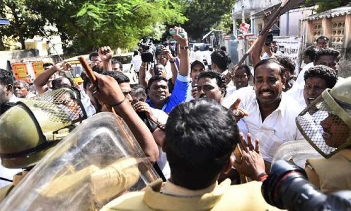 security beefed up in tamil nadu after sporadic violence