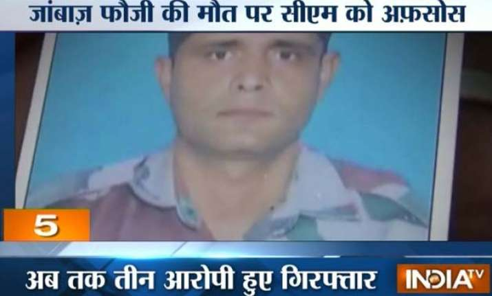 army jawan beaten to death for trying to stop men from