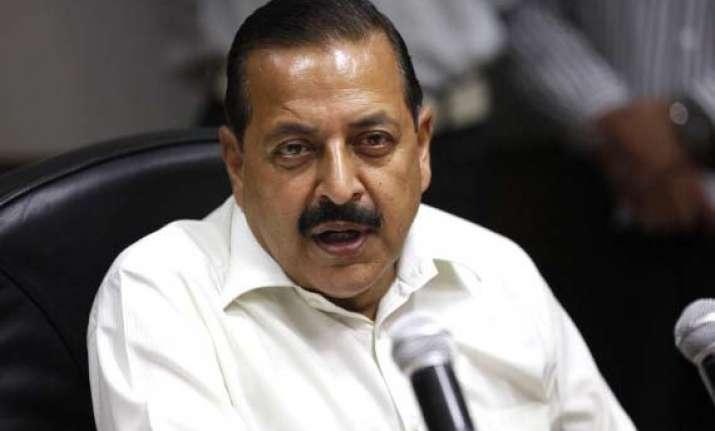 jitendra links militancy with floods in j k