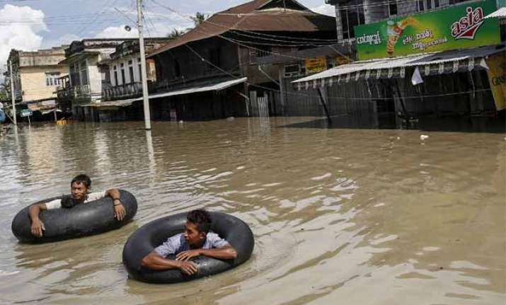 india to dispatch relief material to flood hit myanmar