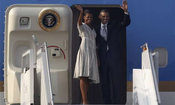 obama concludes india visit leaves for indonesia