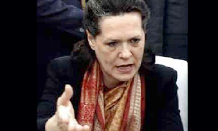 sonia gandhi again made nac chairperson