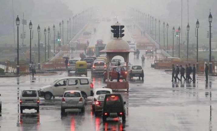 rainy day in delhi