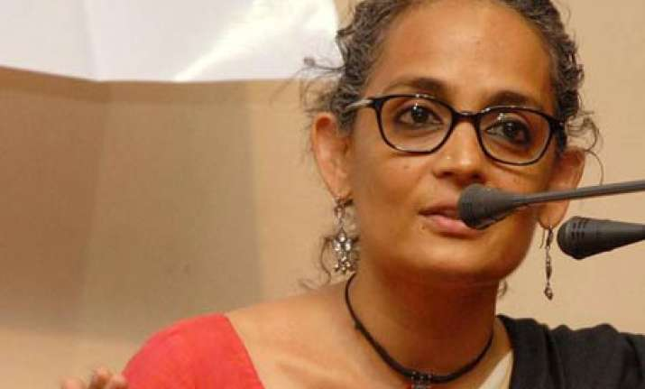 kashmir was never integral part of india arundhati