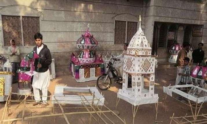 muslims in varanasi will not immerse tazia in ganga river