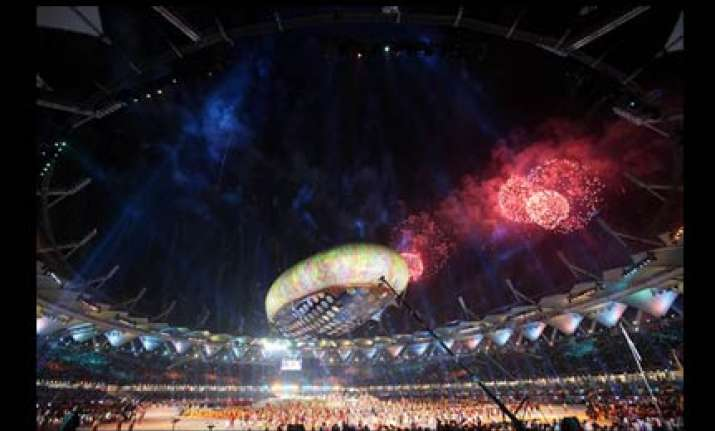 colours of india come alive in cwg opening ceremony